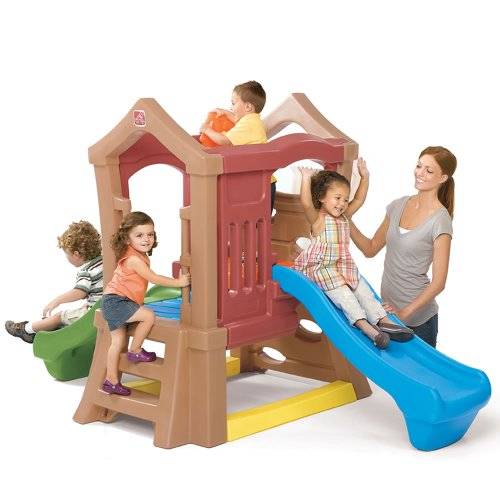 Step2 Play Up Double Slide Climber Large