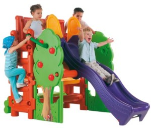 ECR4Kids Tree House Climbing Structure Large